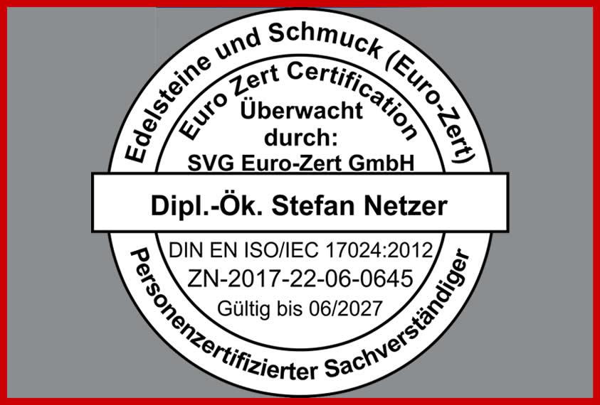 Stempel 17024 Zertifizierung